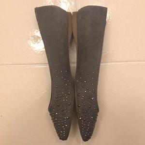 Gianni Bini Shoes - Gianni Bini grey studded flats